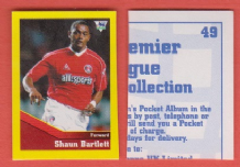 Charlton Athletic Shaun Bartlett South Africa 49 UTR